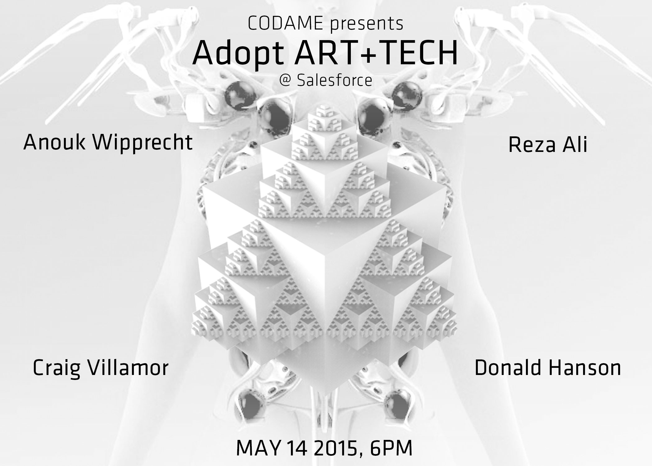 Adopt ART+TECH with Anouk & Reza