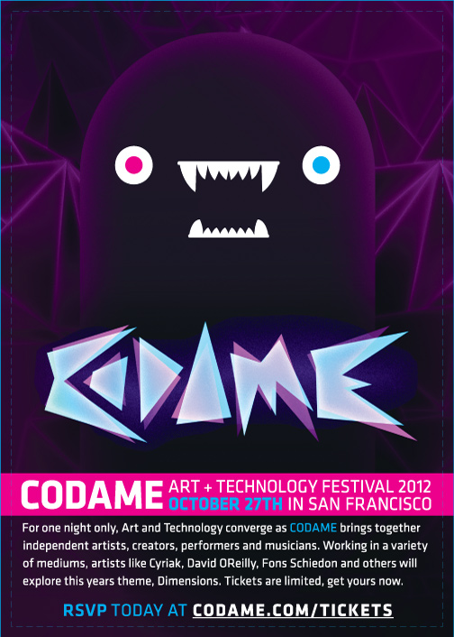 CODAME Art+Tech Festival Papercraft