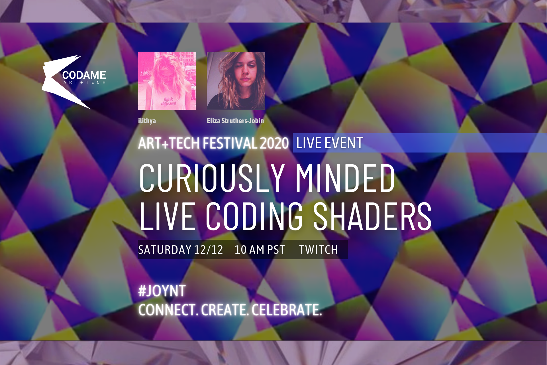 Curiously Minded: Live Coding Shaders