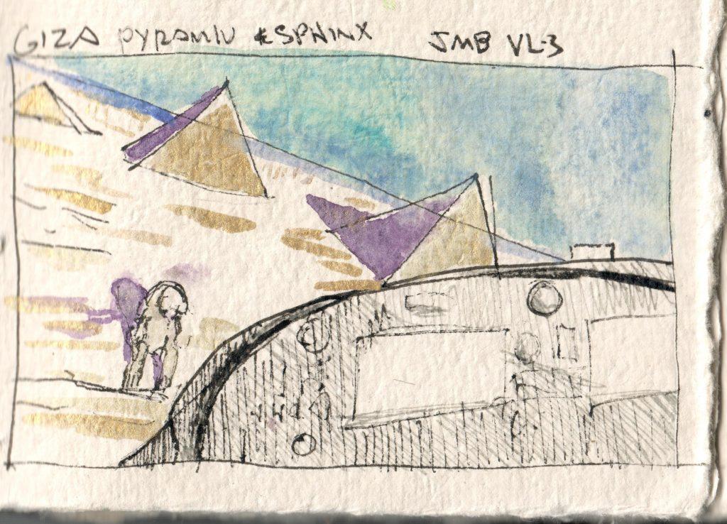 Giza Pyramid & Sphinx