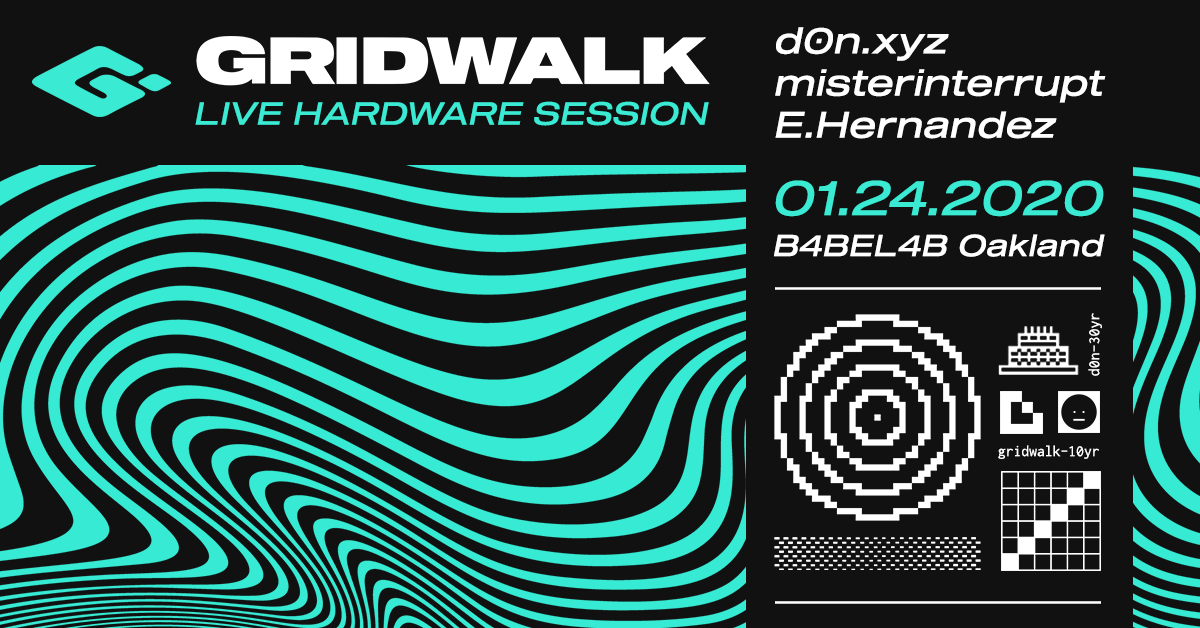 GRIDWALK Live Hardware Session