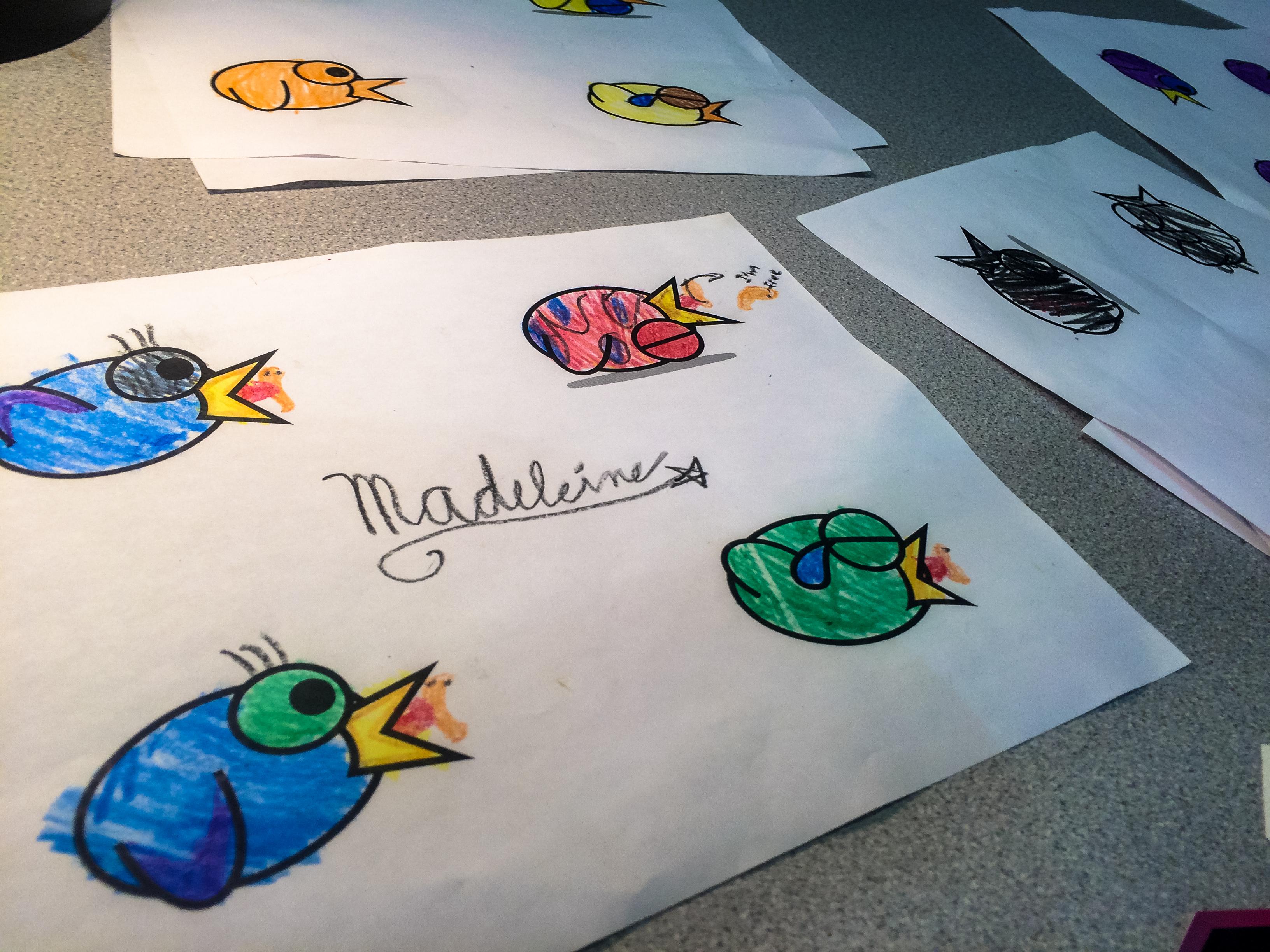 #LeapyBird workshop