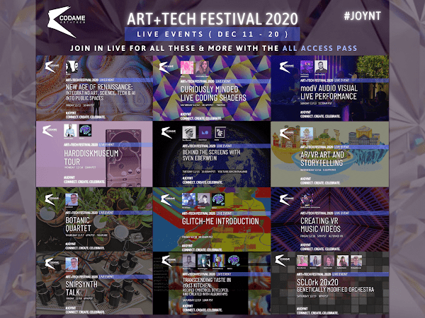 Live Events at CODAME ART+TECH Festival 2020『 JOYNT 』
