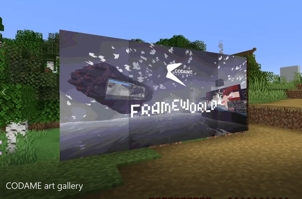Minecraft ART+TECH Gallery