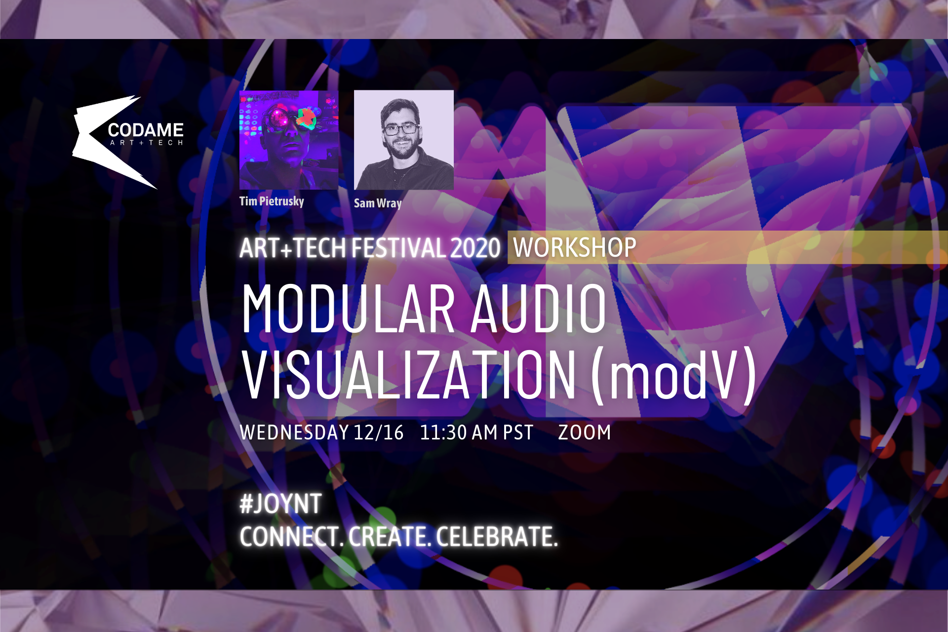 Modular Audio Visualisation with modV
