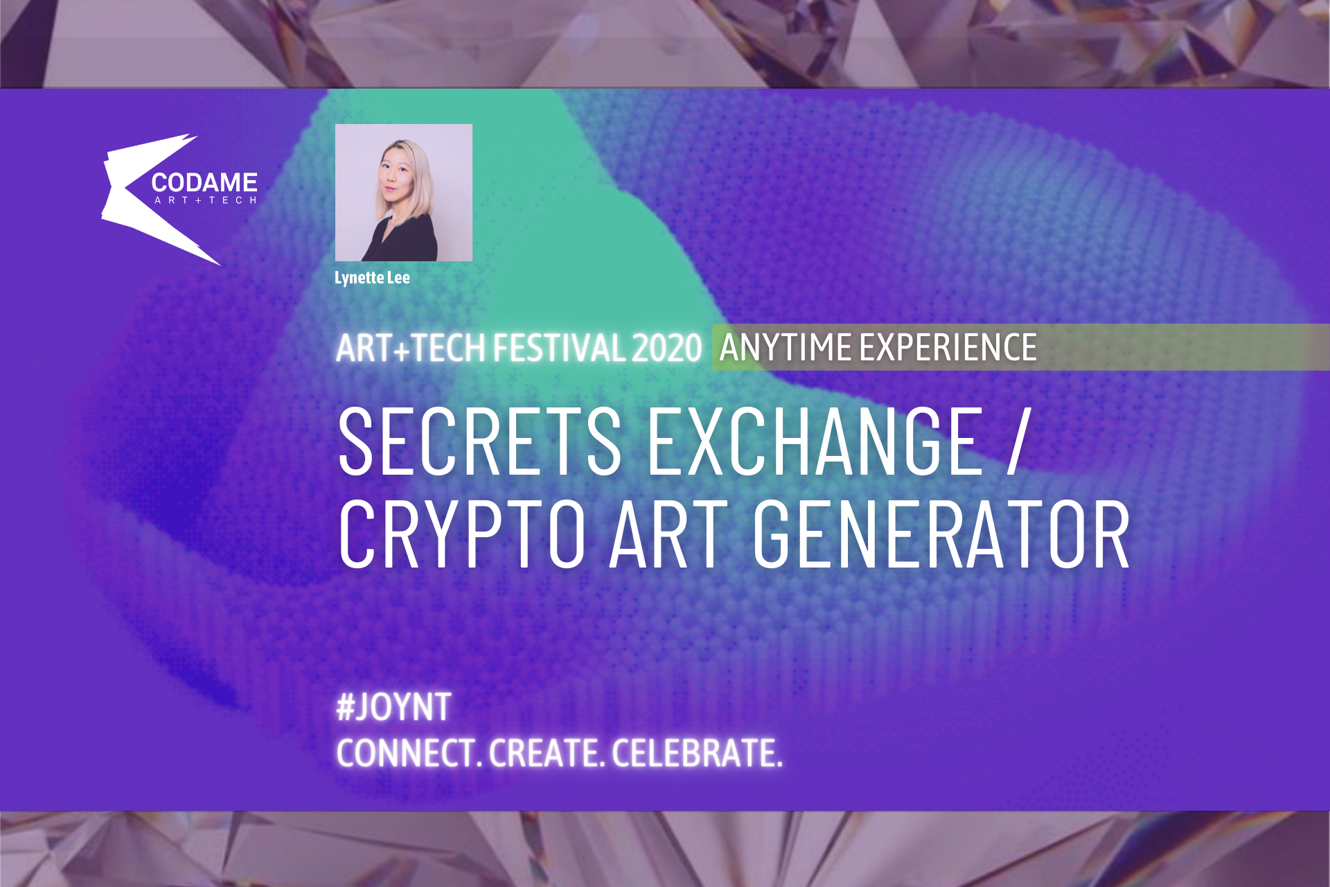 Secrets Exchange/Crypto Art Generator