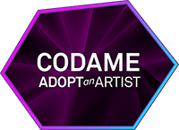 Codame_Badge_02_AdoptAnArtist_200px